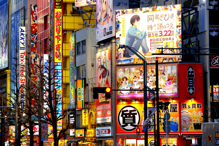 художествена фотография Tokyo Akihabara