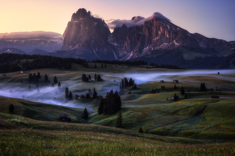 художествена фотография An Alpine Morning