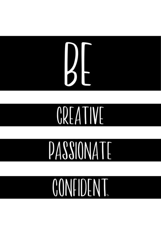 художествена фотография Be Creative