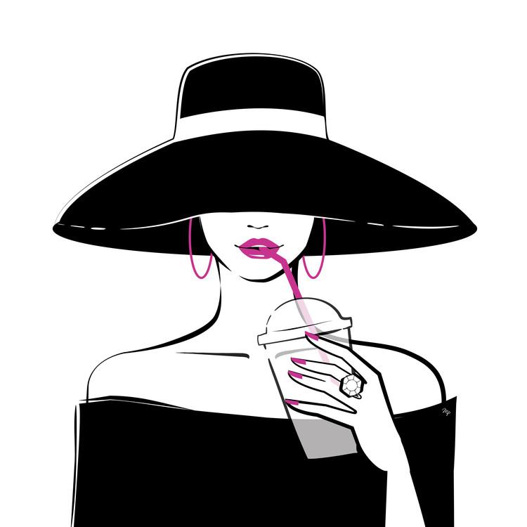 художествена фотография Black Hat