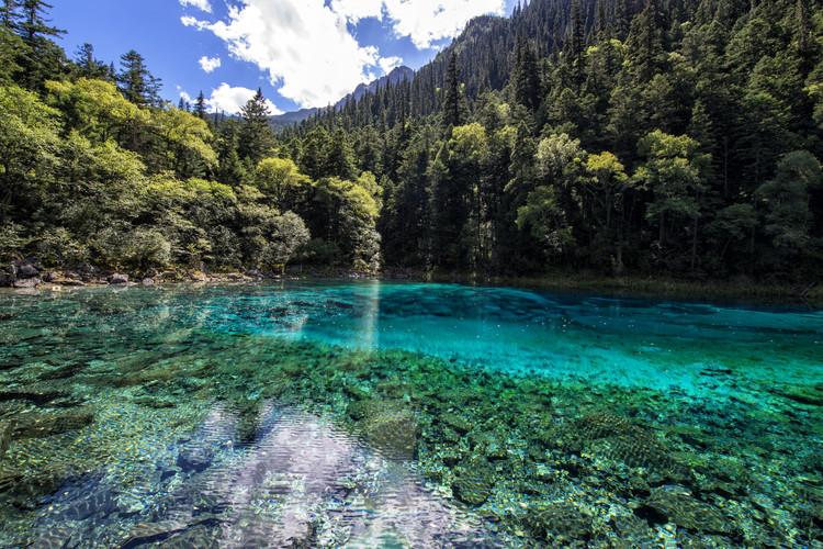 художествена фотография China 10MKm2 Collection - Beauty of Jiuzhaigou