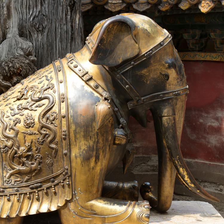 художествена фотография China 10MKm2 Collection - Elephant Buddha