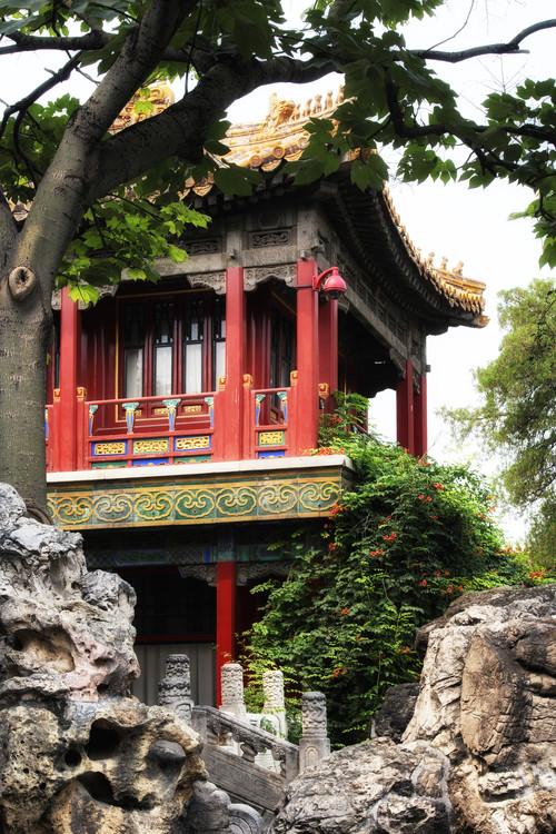художествена фотография China 10MKm2 Collection - Red Pavilion