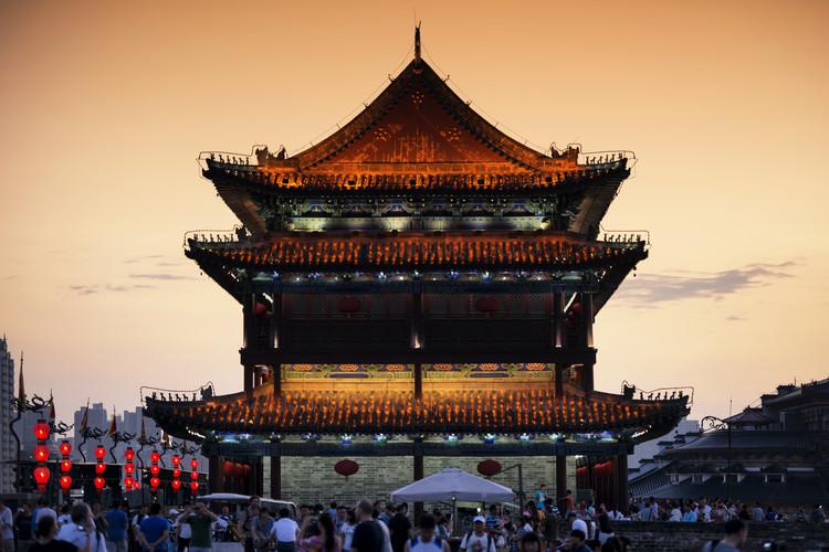 художествена фотография China 10MKm2 Collection - Xi'an Temple