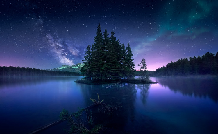 художествена фотография Dreamy Night