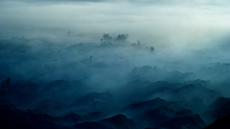 художествена фотография Land of Fog