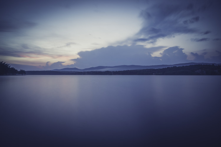 художествена фотография Landscapes of a big lake