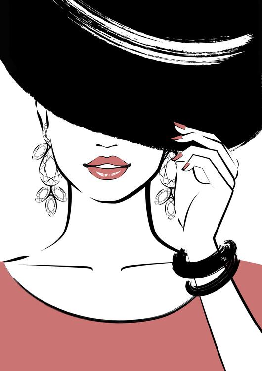художествена фотография Under Hat