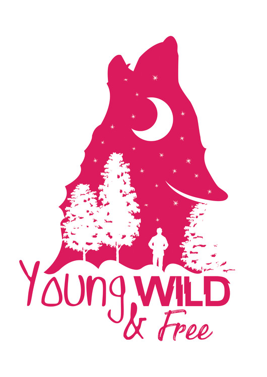 художествена фотография Young, Wild & Free - Pink