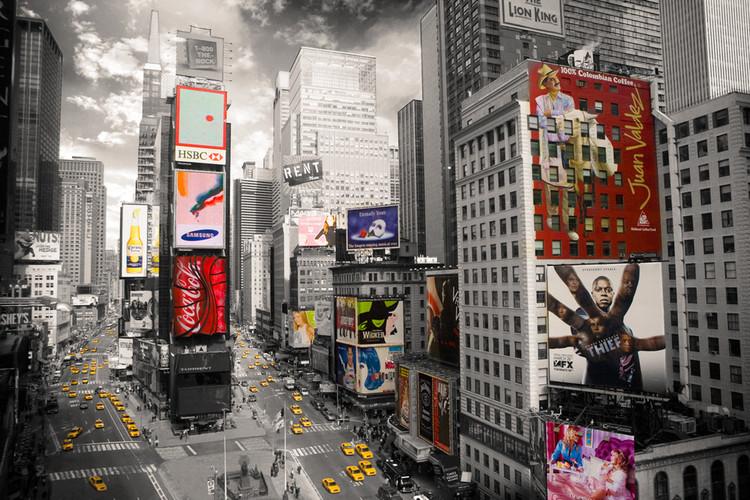 Plakát, Obraz - New York - Times square 2, (91,5 x 61 cm)