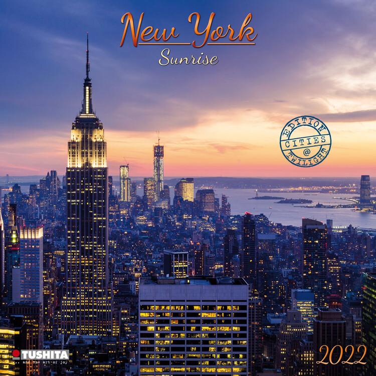 Kalend�? 2022 V�chod slunce v New Yorku