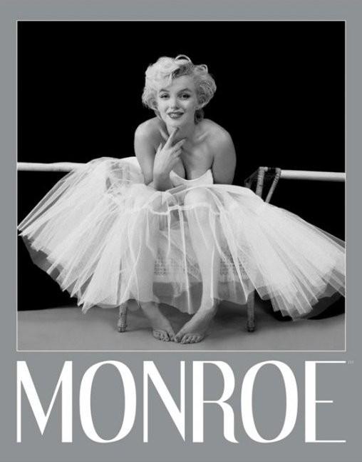 Plakát, Obraz - Marilyn Monroe - ballerina, (40 x 50 cm)