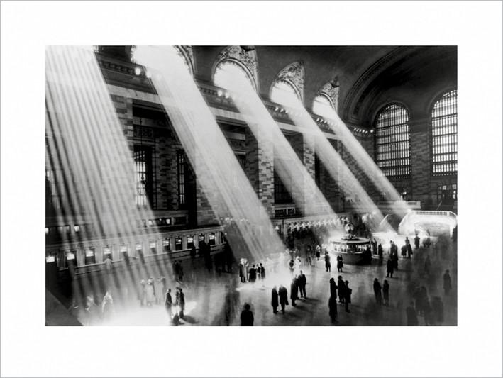 Obraz, Reprodukce - New York - Grand central terminal, (80 x 60 cm)