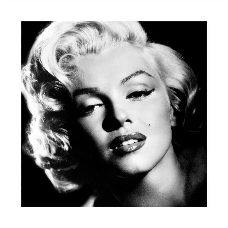 Obraz, Reprodukce - Marilyn Monroe - Glamour, (40 x 40 cm)