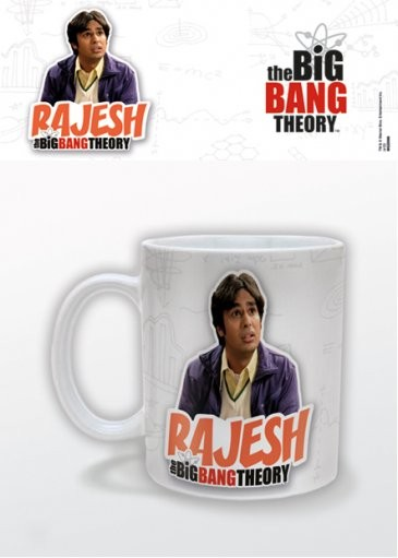 Hrnek The Big Bang Theory (Teorie velkého třesku) - Rajesh