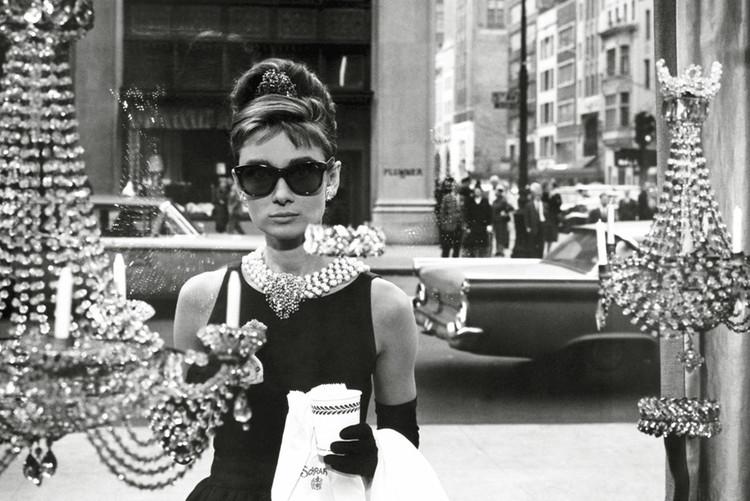 Plakát, Obraz - Audrey Hepburn - window, (91,5 x 61 cm)