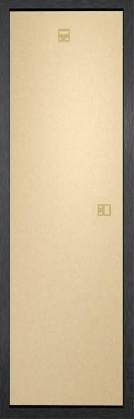 Lijsten - Slim Poster 30,5x91,5cm zwart MDF