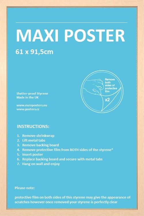 cadre affiche 61x91 5cm cadre acheter le sur. Black Bedroom Furniture Sets. Home Design Ideas