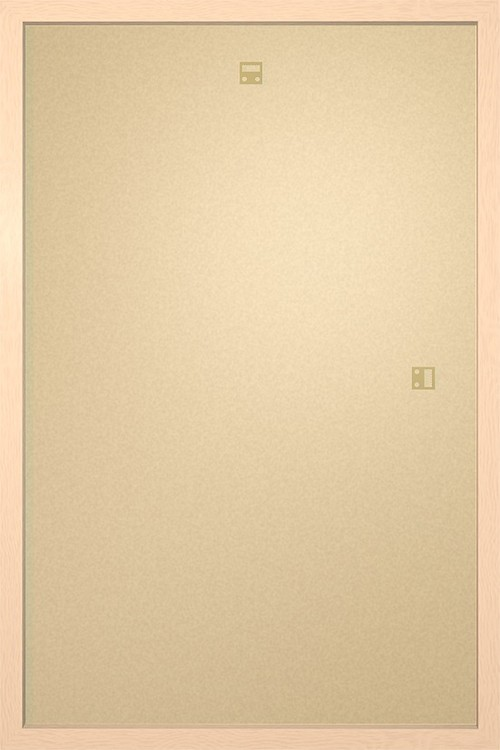Rahmen - Poster 61x91,5cm Buche MDF