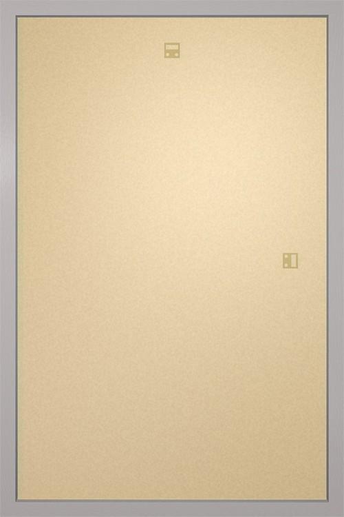 RámRám pre plagát 61x91,5cm strieborná MDF