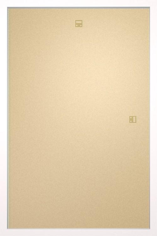 RámRám pre plagát 61x91,5cm biela MDF