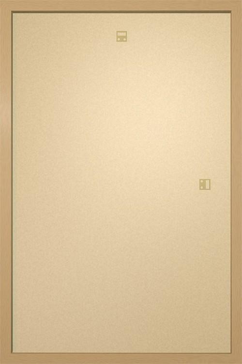 Ramki na plakat 61x91,5cm dąb MDF