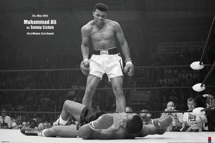 Plakát, Obraz - Muhammad Ali vs. Sonny Liston, (91,5 x 61 cm)