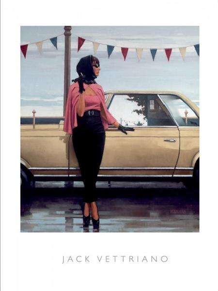 Obraz, Reprodukce - Suddenly One Summer, 2000, Jack Vettriano, (40 x 50 cm)
