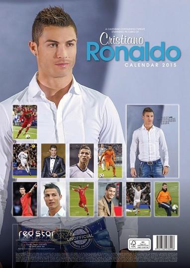Calendario 2018 cristiano ronaldo for Cornice poster 61x91