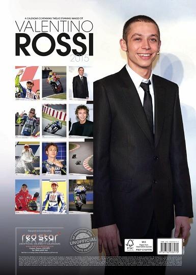 Calendario 2018 valentino rossi for Cornice poster 61x91