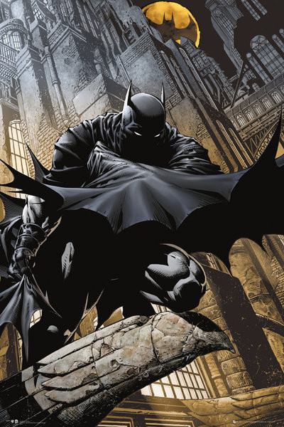 Plakát, Obraz - Batman Comic - Stalker, (61 x 91,5 cm)