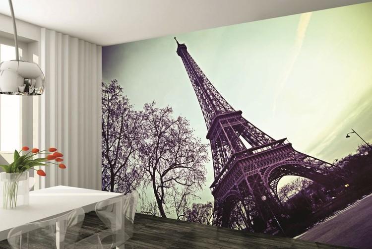 Favoloso Carta da parati - Parigi - La torre Eiffel | EuroPosters.it RX64