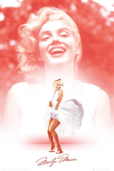 Plakát, Obraz - Marilyn Monroe - Pink, (61 x 91,5 cm)