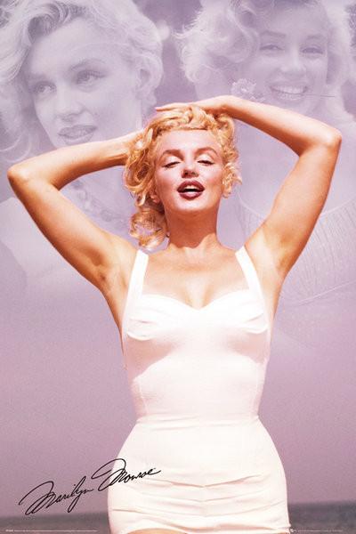 Plakát, Obraz - Marilyn Monroe - Collage, (61 x 91,5 cm)