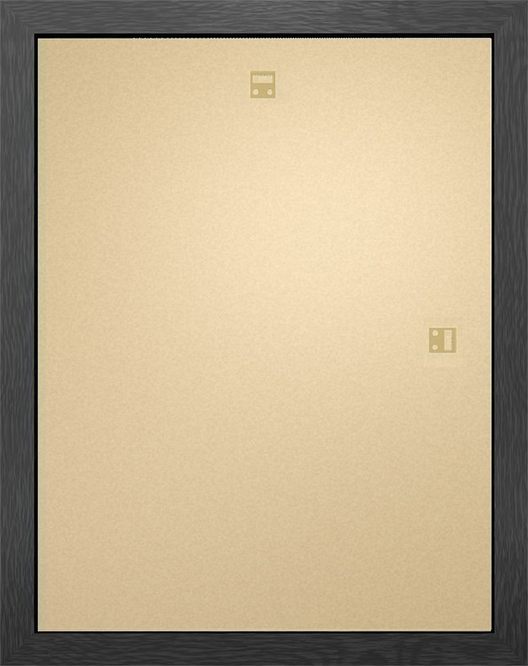 Rahmen - Mini Poster 40x50cm Schwarz MDF