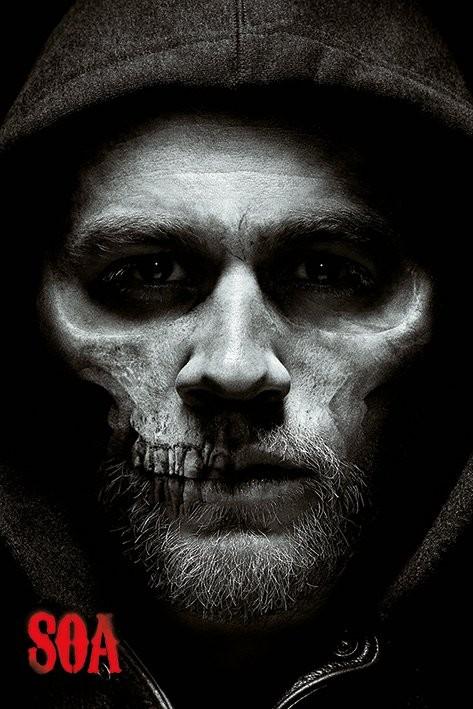 Plakát, Obraz - Sons of Anarchy (Zákon gangu) - Jax Skull, (61 x 91,5 cm)