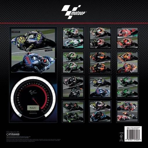 Calendario 2018 motogp for Cornice poster 61x91