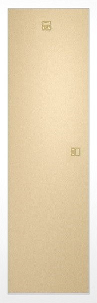 Ramki na wąskie plakaty 30,5x91,5cm biały MDF