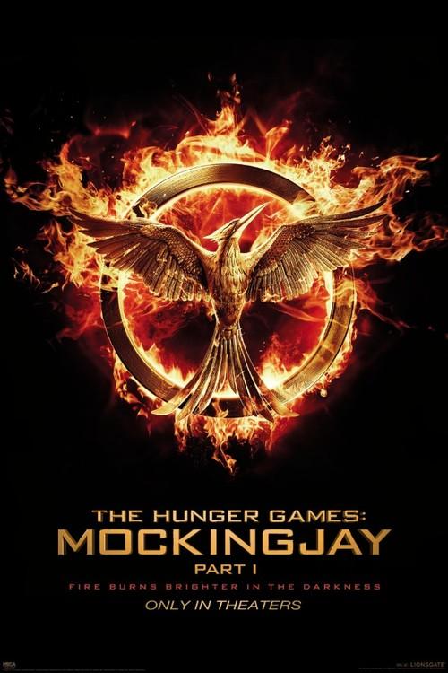 Plakát, Obraz - Hunger Games: Síla vzdoru 1. část - Reprodrozd (Mockingjay), (61 x 91,5 cm)