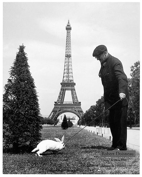 Plakát, Obraz - Paříž - Champs de Mars, 1943, (24 x 30 cm)
