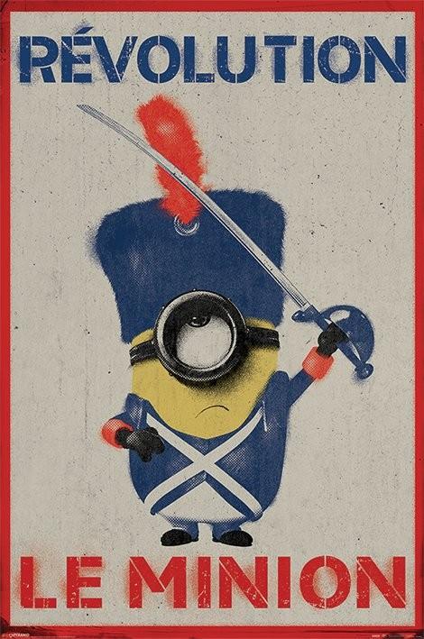 Plakát, Obraz - Mimoni (Já, padouch) - Revolution Le Minion, (61 x 91,5 cm)