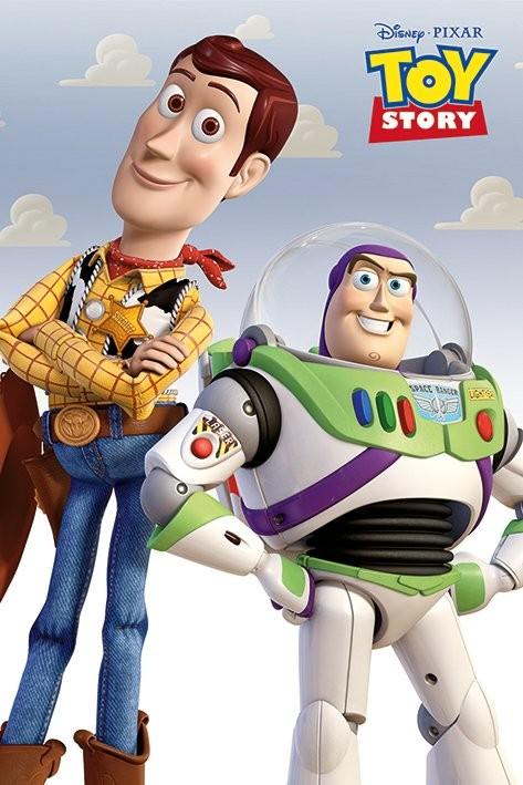 Plakát, Obraz - Toy Story 3: Příběh hraček - Woody & Buzz, (61 x 91,5 cm)