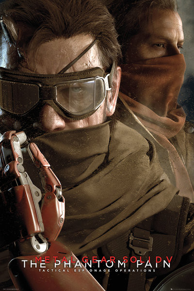 Plakát, Obraz - Metal Gear Solid V: The Phantom Pain - Goggles, (61 x 91,5 cm)