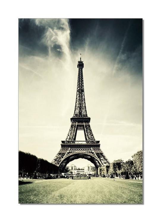 Obraz na zeď - Paříž - Eiffelovka, (80 x 120 cm)