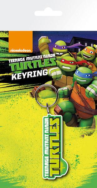 Klíčenka Želvy Ninja - Logo