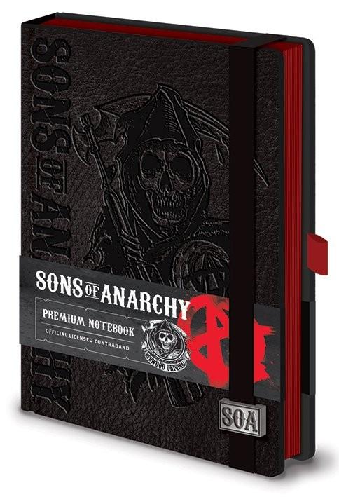 Sons of Anarchy (Zákon gangu) - Premium A5 Notebook Zápisník
