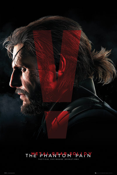 Plakát, Obraz - Metal Gear Solid V: The Phantom Pain - Cover, (61 x 91,5 cm)