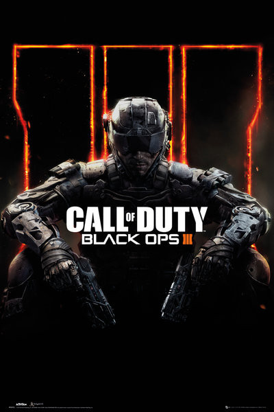 Plakát, Obraz - Call of Duty Black Ops 3 - Cover Panned Out, (61 x 91,5 cm)