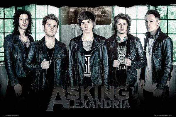 Plakát Asking Alexandria - Window
