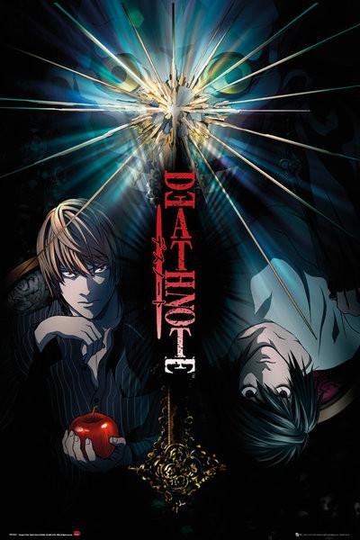 Plakát, Obraz - Death Note - Duo, (61 x 91,5 cm)